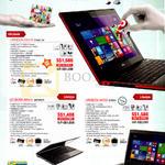 Fujitsu Notebooks UH574 B7W813W, AH544 DB7W81P, AH555 B7W81