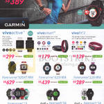 GPS Fitness Watches Forerunner 225, 920XT HRM, 620 HRM, 220 HRM, 15, Vivo Active, Vivosmart, Fit 2, Golf Approach S6,S4