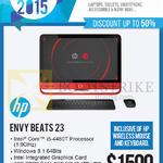 Newstead AIO Desktop PC Envy Beats 23-P232D K5N60AA, 23-P233D K5N61AA