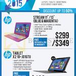 Newstead Notebooks Stream 11 13, Tablet X2 10-J016TU