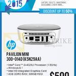 Newstead Pavilion Mini Desktop PC 300-014D K5N29AA