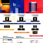 Sonos Home Theatre Systems 3.1, Play 3, Wireless Multi-Room Music, Wireless 5.1 Home Theatre