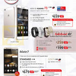 Mobile Phones, Tablet, Huawei P8, Mate 7, TalkBand B2