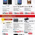 Smartphones, Mobile Wi-fi, Honor 6, 3C Lite, 3X, E5878, E5730, E5770, E5786