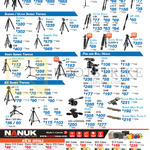 Tripods, Pan, Ball Heads, Cases, Velbon, Sherpa, Nanuk