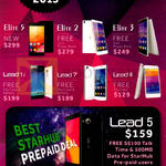 Leagoo Mobile Phones Elite 5, Elite 2, Elite 3, Lead 1i, Lead 7, Lead 6, Starhub Lead 5