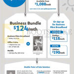 M1 Business Fibre Broadband, Business Bundle Offers 25Mbps, 10Mbps, MPOS