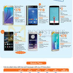 Mobile, Samsung Galaxy Note 5, Sony Xperia C5 Ultra, LG G4 Beat, Huawei P8, OPPO R7, Galaxy S6 Edge, Mobile Plans, Lite, Reg, Max