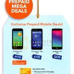 Prepaid Mobile Deals Alcatel Pop S3, Sony Xperia E4g, LG Magna