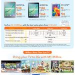 Samsung Galaxy Tab S2 9.7, Samsung Galaxy Tab S2 8.0, Samsung GALAXY Tab 4 7.0, MiBox, 4G 300Mbps, MData Value, Lite, Max Plus