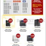 Memory World Qnap NAS Seagate. HGST, WD, Intel Celeron, Intel Core, TS-253Pro, 453Pro, 453mini, 451, TVS-471