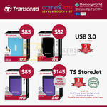 Memory World Transcend External Storage 1TB 2TB TS StoreJet