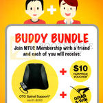 NTUC Membership Buddy Bundle Free OTO Spinal Support