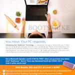Intel Notebooks Free Bluetooth Speaker, RealSense Device