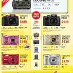 Digital Cameras Coolpix AW120, P610, P530, S6900, S7000, S3700, L31