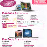 Notebooks Apple MacBook Air, Z0RH, Z0RJ, MacBook Pro Z0QM, ZOQN