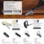Bluetooth Headsets, Explorer 500, Voyager Edge, Voyager Legend Special Edition, M70, M55, EXPLORER 50, ML20