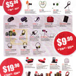 Earphone, Headphone, Bluetooth Headset, Speakers, Cases, Neoplug Leaf, BS300, XBS330, HS110, GMX5, GXR5, Neon 3, Campus 12.0, TZLA Slim Micro 2500, A300 U