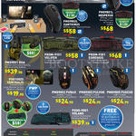 Gaming Mouse, Keyboards, Mousepad, Furax, Fulvus, Fuscus, Xanthinus, Hesperus