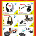 Earphones, Headphones, Audio Transceiver, Converter, 2-Way Splitter, Symphony 380 Plus