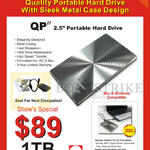 Portable Hard Drive QP II 1TB