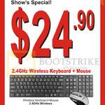 Wireless Keyboard, Mouse KB 419