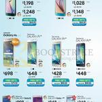Smartphones Galaxy S6 Edge, S6, A8, A7, A5, A3, Note Edge, Note 4, GRAND 2