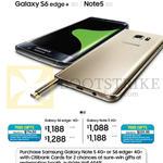 Smartphones, Galaxy S6 Edge 4G, Galaxy Note 5 4G, Citibank Specials