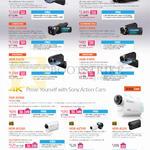 Camcorders Handycam Video FDR-AXP35, AX100E, CX-900E, CX405, PJ670, PJ410, X1000, AS200, AZ1VR, AS20