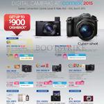 Digital Cameras Cybershot DSC-RX100 IV, RX10 II, RX1R, RX100 III, RX100 II, KW11, HX90V, WX500
