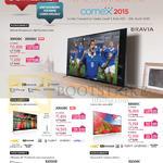 TVs 4K Android KD-X9400C, X9300C, X9000C, X8500C, X8500B, X8300C