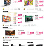 TVs, SoundBars, Blu-Ray Players, W850C, W800C, W700C, W600B, R550C, R500C, HT-NT3, CT780, CT180, S5500, S1500