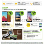 Business Mobile Phones LG G4 Leather, HTC One M9, Samsung Galaxy S6