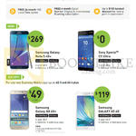 Business Mobile Phones Samsung Galaxy Note 5, A8, A5, Sony Xperia C5 Ultra