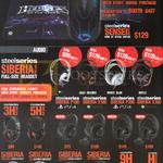 Mouse QcK, Headsets Siberia P100, X100, P300, X300 3HV2, 5HV3, 9H, H Wireless