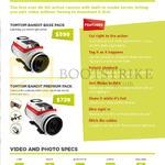 Action Camera Bandit Base Pack, Premium Pack