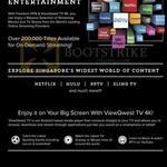 Fibre Broadband Freedom VPN, TV 4K