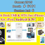 IFlash Disk USB, OTG For IPhone, IPad Air, IPod, Android