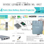 Innovative K4 Battery Bank Projector