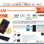 Innovative K6M Wireless Palm Size Battery Bank Projector