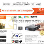 Innovative Q1 AIO Palm Size LED Projector
