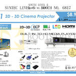 Innovative T1 Cinema Projector, Media Player