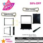 Innovative Table, Floor Screen
