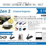 Innovative Zen 2 Cinema Projector