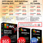 Networks AVG Protection Internet Security 2015, Anti-Virus 2015, PC TuneUp
