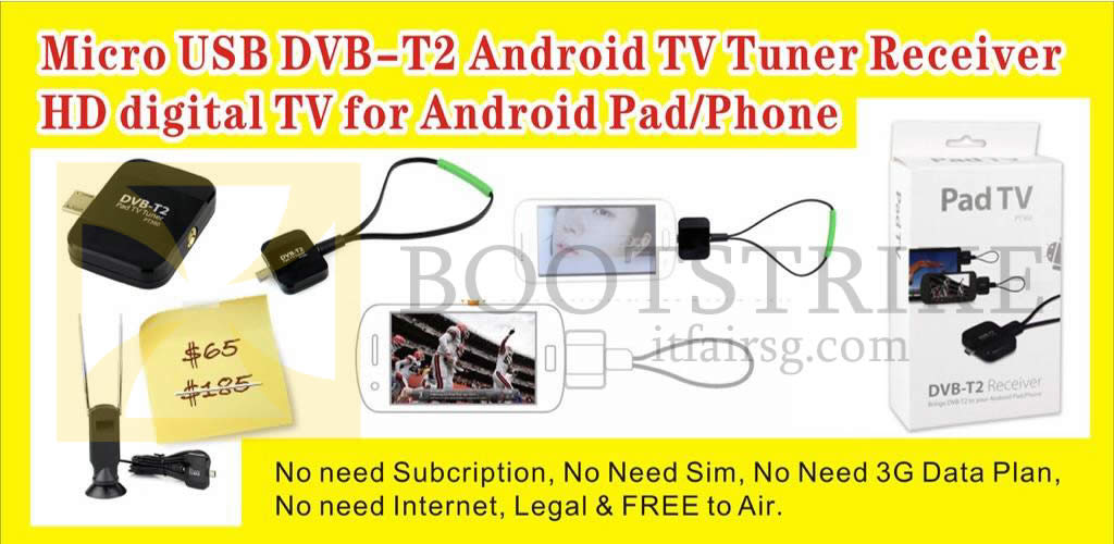 COMEX 2016 price list image brochure of Worldwide Computer Micro USB DVB-T2 Android TV Tuner Receiver