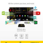 Veolo 4K Smart UHD Player With Veo Navigator