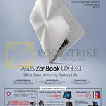 ASUS Comex Show Promotions, Notebook Zenbook UX330 Series