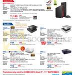 Desktop PC, ROG GR6-R021R Console, VivoMini, VM62N, VM42, UN62- M111Y, UN42-M074Y