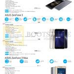 Mobile SmartPhones Zenfone 3 Ultra, 3, 3 Max
